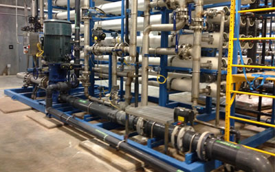 water treatment for commercial complex